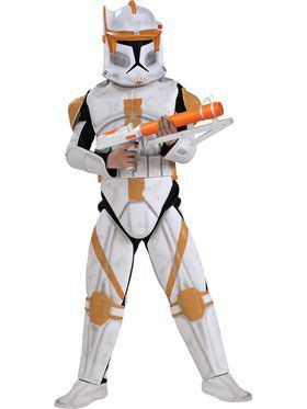 Deluxe Clone Trooper Commander Cody Child