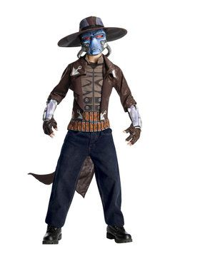Deluxe Clone Wars Cad Bane Costume for Boys