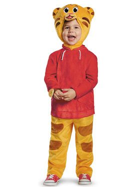 Daniel Tiger's Neighborhood: Daniel Tiger Child Deluxe Costume