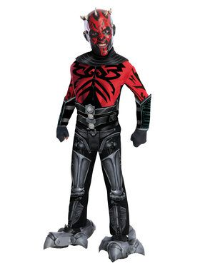 Deluxe Darth Maul Star Wars Boys Costume