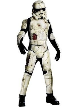 Deluxe Death Trooper Men's Costume