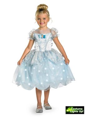 Deluxe Disney Cinderella Light Up Dress