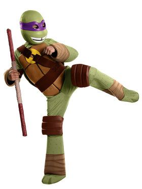 Deluxe Donatello Boy's Costume