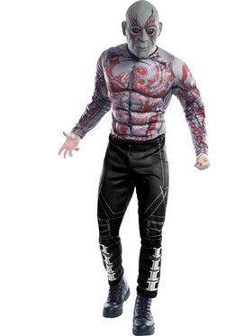 Deluxe Drax the Destroyer Men's Costume
