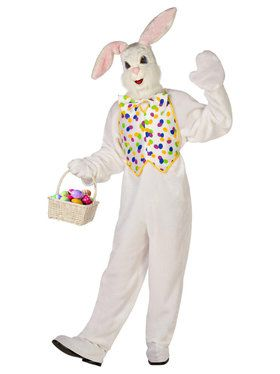 Deluxe Easter Bunny Costume For Adults