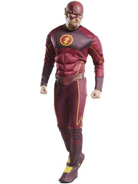 Deluxe Flash Men's Costume