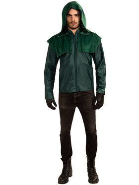 Deluxe Green Arrow Adult Costume