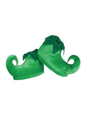 Deluxe Green Elf Shoes Adult