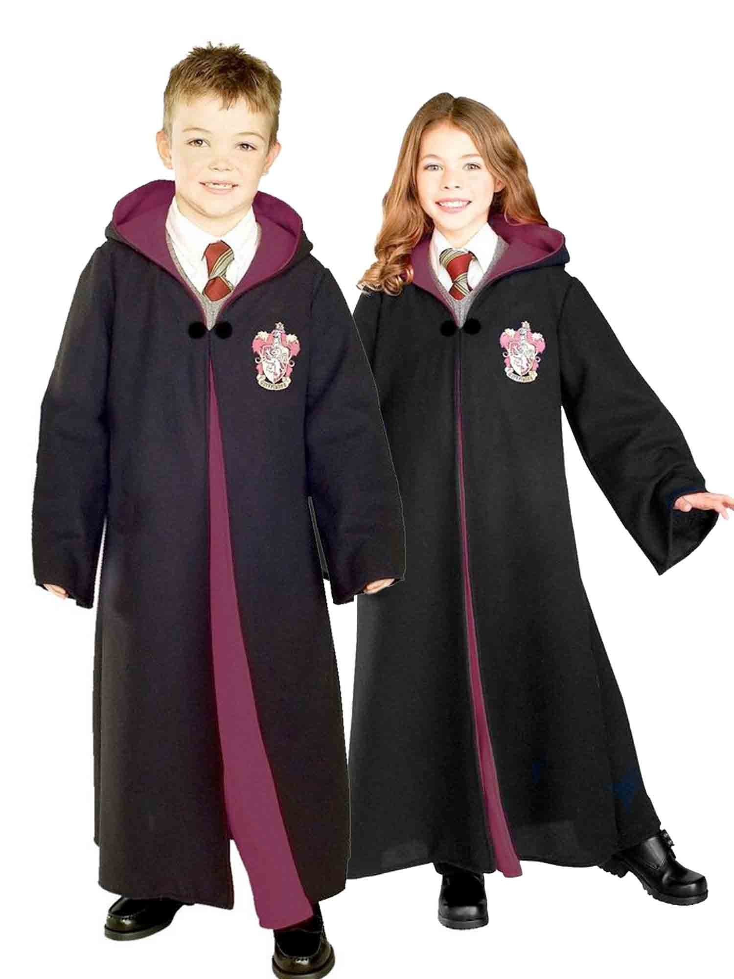 deluxe gryffindor robe harry potter boys costumes. Black Bedroom Furniture Sets. Home Design Ideas