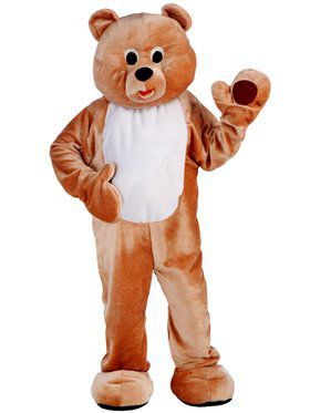 Deluxe Honey Bear Mascot Men's Costume