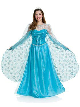 Deluxe Ice Princess Women's Costume