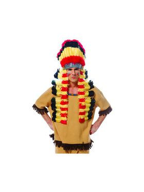 Deluxe Indian Feather Headdress