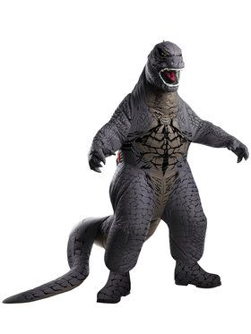 Deluxe Inflatable Godzilla Men's Costume