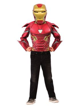 Deluxe Iron Man Flip N' Reveal Dress Up Set