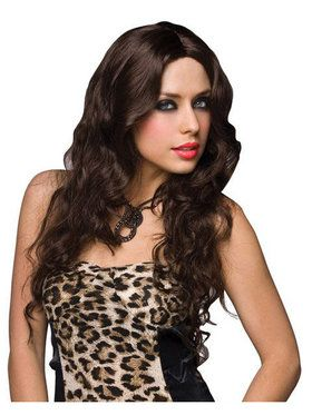 Deluxe Jennifer Brown Wig Adult