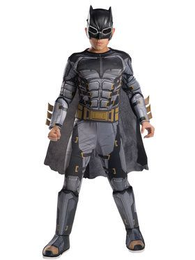 Deluxe Justice League Tactical Batman Boys Costume