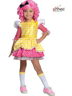 Deluxe Lalaloopsy Crumbs Sugar Cookie Child Costume