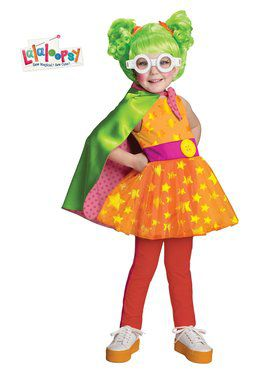 Deluxe Lalaloopsy Dyna Might Toddler's Costume