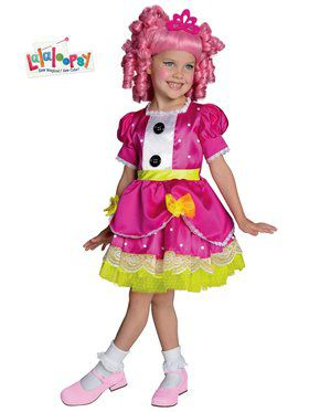Deluxe Lalaloopsy Jewel Sparkles Child Costume