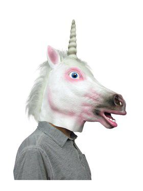 Deluxe Latex Unicorn Mask