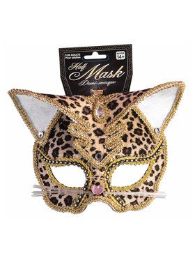 Adult Leopard Mask
