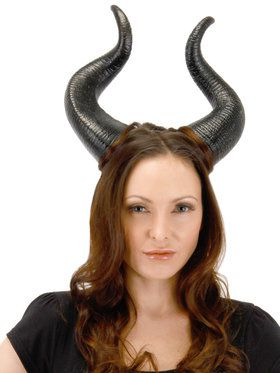 Deluxe Maleficent Horns Adult
