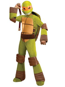 Deluxe Michelangelo Boy's Costume