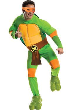 Deluxe Michelangelo Men's Costume