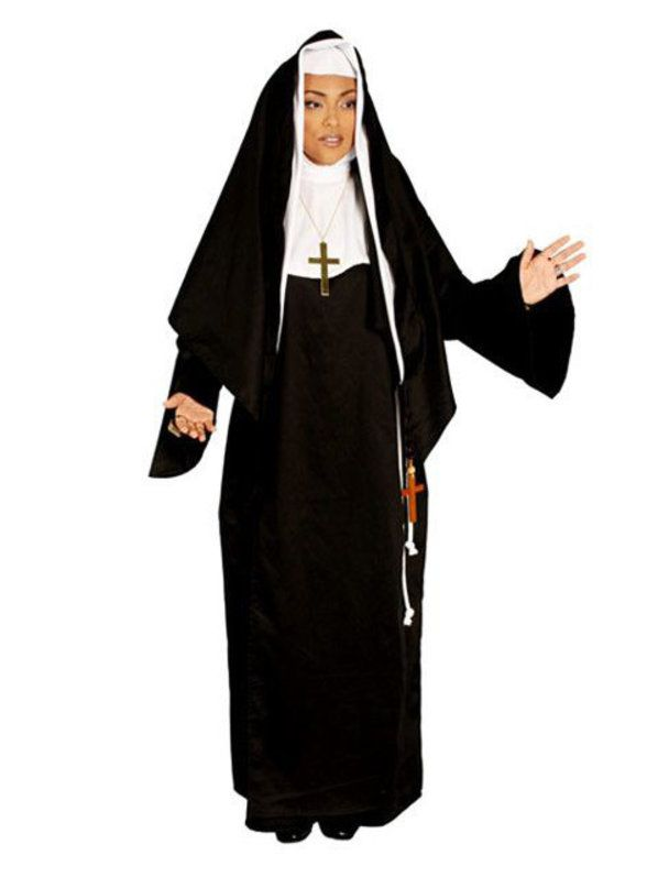 Deluxe Mother Superior Nun Adult Costume  sc 1 st  Wholesale Halloween Costumes & Deluxe Mother Superior Nun Costume - Religious Halloween Womens Costumes