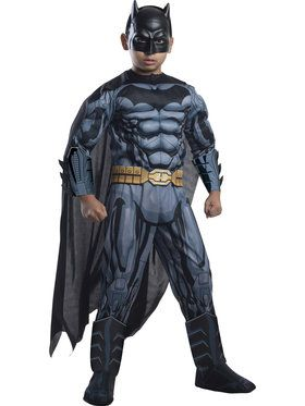 Deluxe Muscle Chest Batman Boys Costume