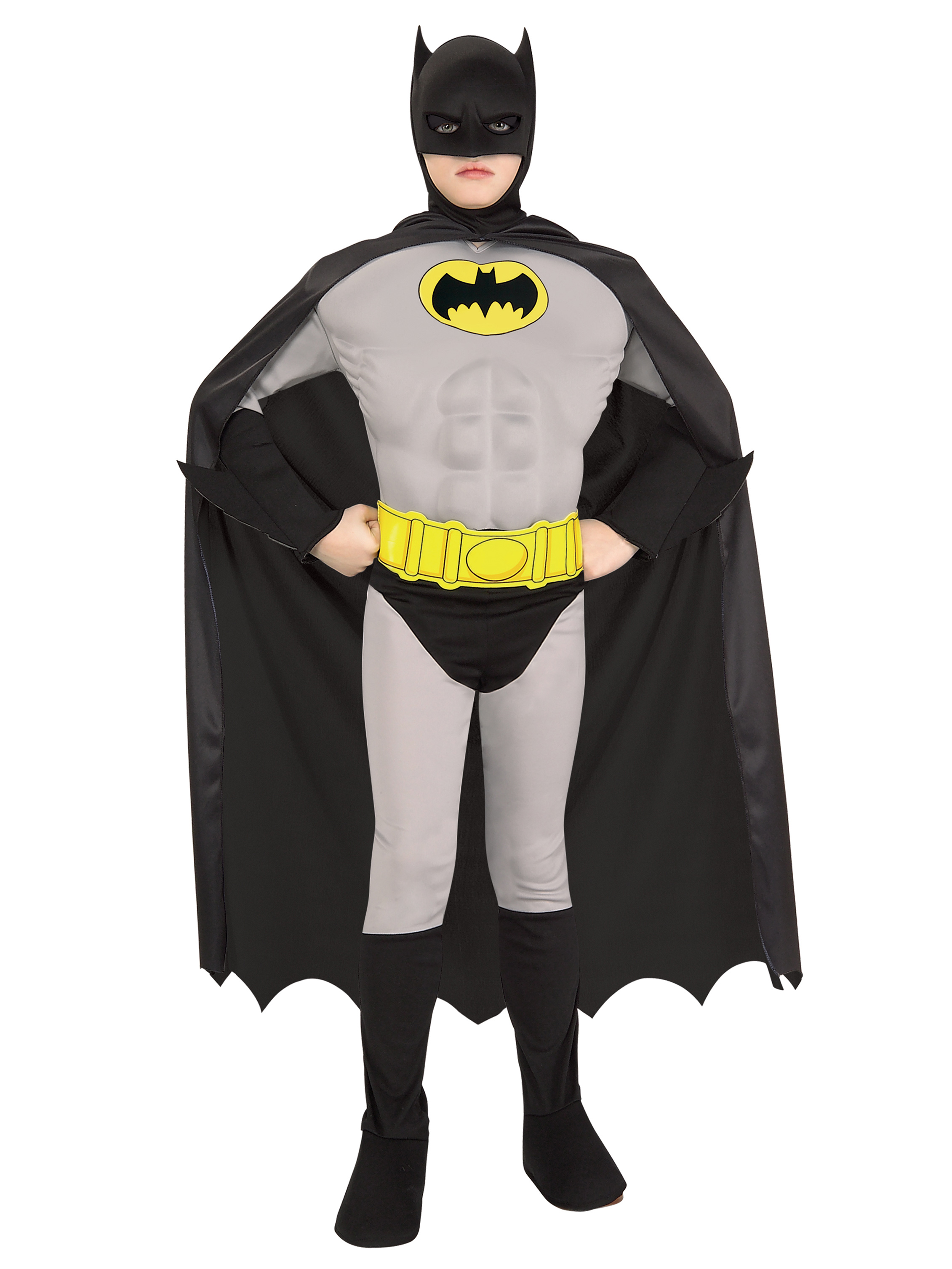Deluxe Muscle Chest Batman Child Costume 274838