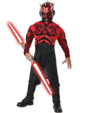 Deluxe Muscle Chest Darth Maul Child Costume