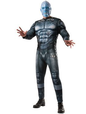 Deluxe Muscle Chest Electro Men's Costume