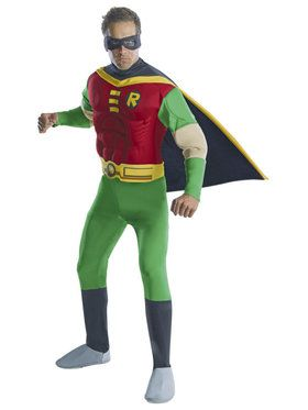 Deluxe Muscle Chest Robin Adult Costume