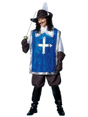 Deluxe Musketeer Adult Costume