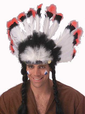 Deluxe Native American Headdress Adult