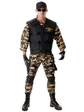 Deluxe Navy SEAL Adult Costume
