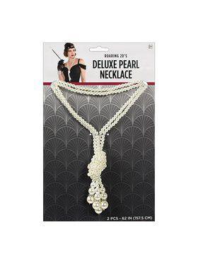 Deluxe Pearl Necklace Accessory