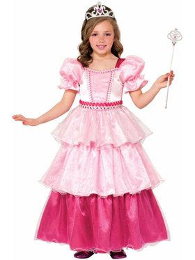 Deluxe Pink Sugar Princess Girl's Costume