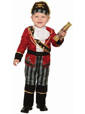 Deluxe Pirate Boy Child Costume