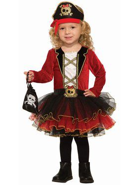 Deluxe Pirate Girl Child Costume