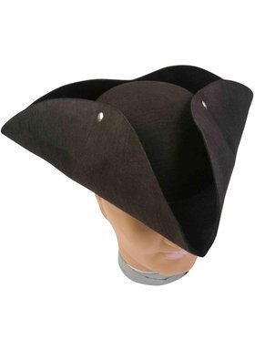 Deluxe Pirate Hat For Adults
