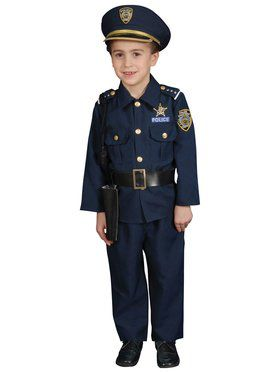 Deluxe Police Officer Set Costume