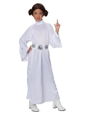 Deluxe Princess Leia Childrens Costume