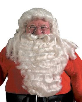 Deluxe Pro Santa Full Beard & Wig Set