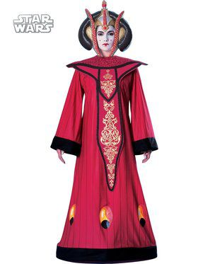 Deluxe Queen Amidala Costume For Adults
