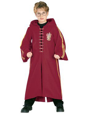 Super Deluxe Quidditch Robe Harry Potter Costume