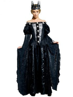 Deluxe Ravenna Skull Dress Womens Costume