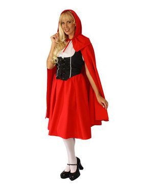 Deluxe Red Riding Hood Adult Costume
