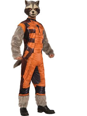 Deluxe Rocket Raccoon Mens Costume